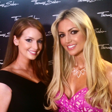 Lisa Kavanagh and Rosanna Davison at the Thomas Sabo AW15 Launch