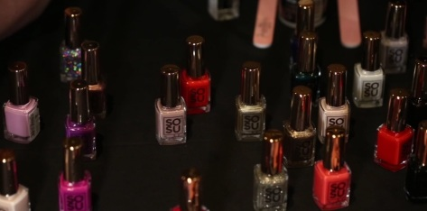 SoSu nail collection by Suzanne Jackson
