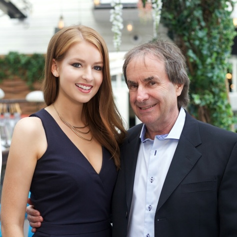 Lisa Kavanagh and Chris de Burgh at the launch of Eat Yourself Beautiful